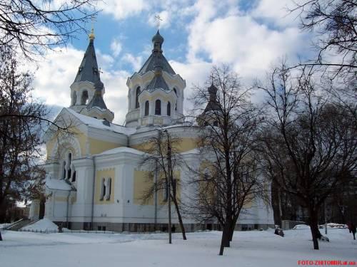В Житомирской области ограблена церковь