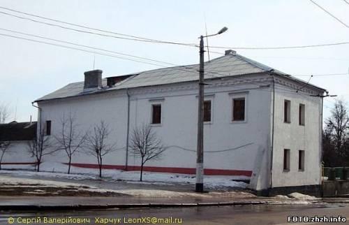 Уцелевшее здание Иезуитской юридики в Житомире